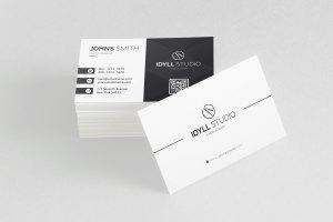 Vector Name Card Template