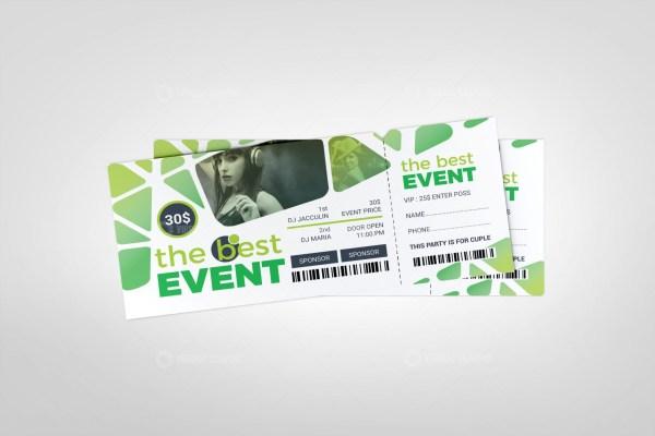 Best Event Ticket Design