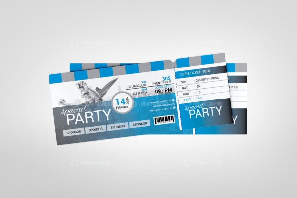 Print Event Ticket