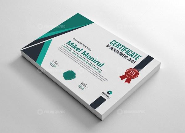 Creative Achievement Certificate