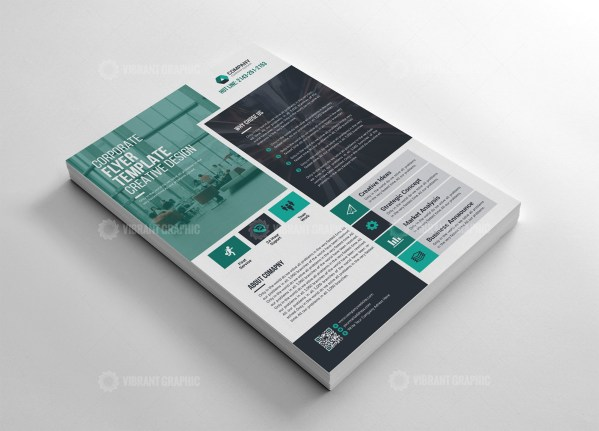 Standard Flyer Template Design