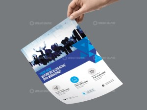 PSD Meeting Business Flyer Template