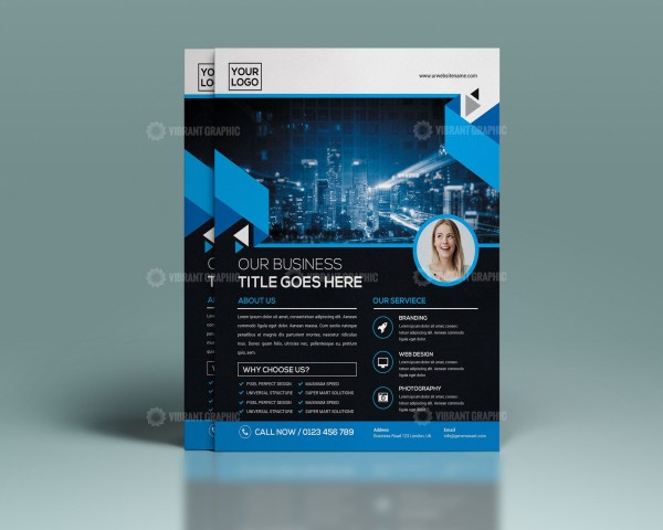 PSD Modern Flyer Template