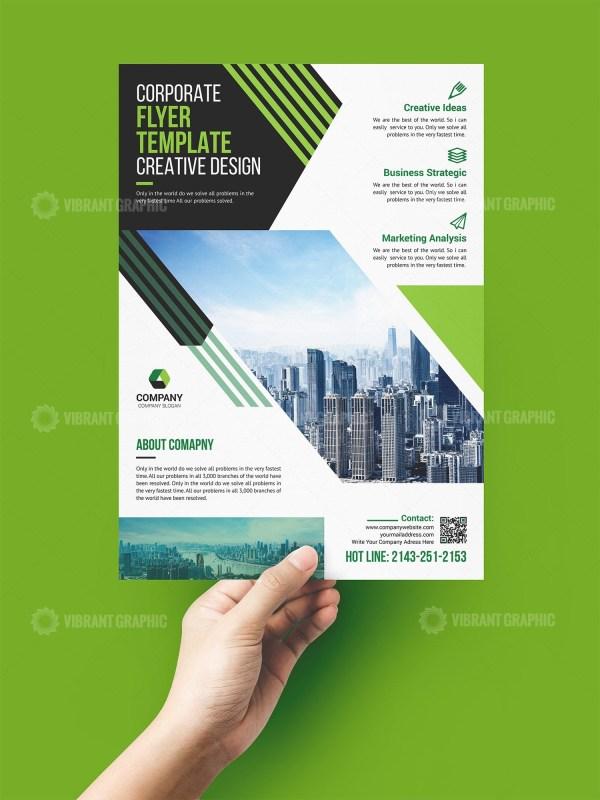 Sleek Print Flyer Template