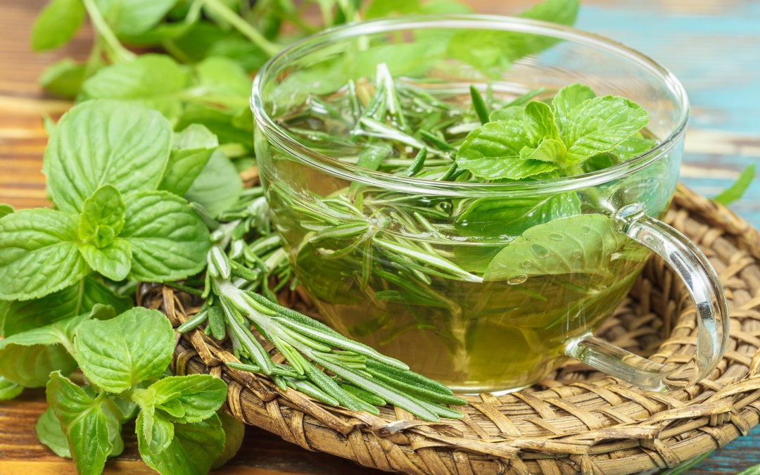 Mint Tea to Strengthen Liver Qi