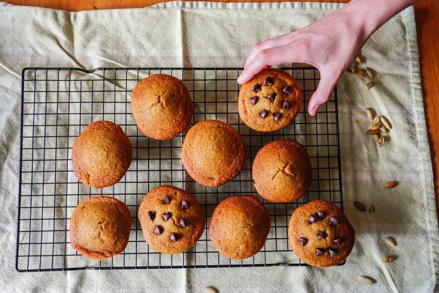 gluten free pumpkin muffins 3