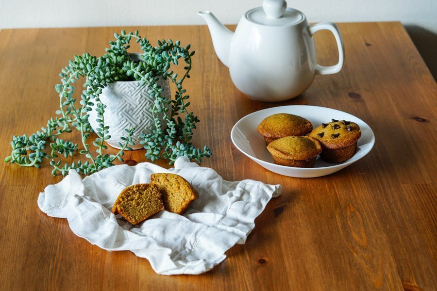 Gluten free pumpkin muffins 2