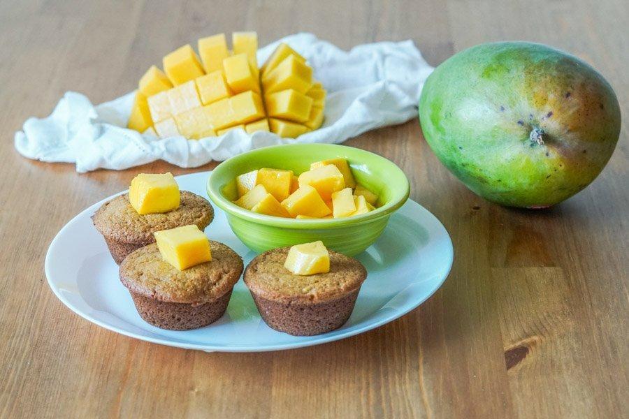 Mango Muffins 1