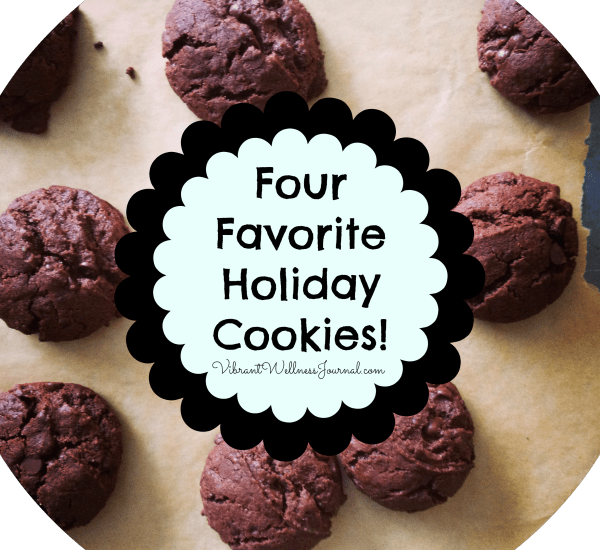 four favorite holiday cookie recipes