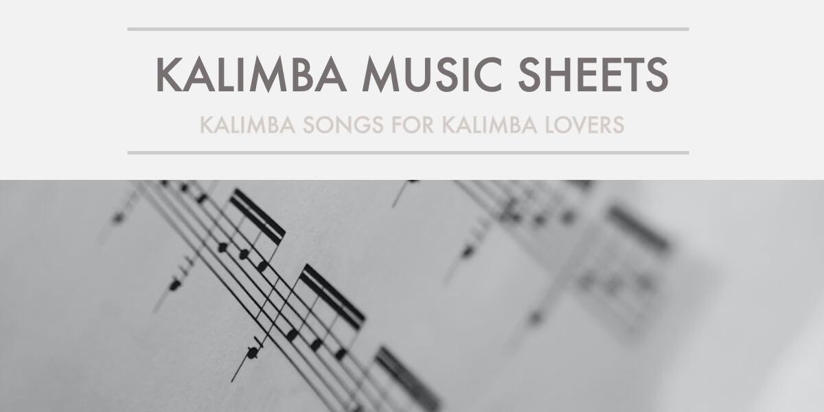 kalimba songs kalimba music sheet