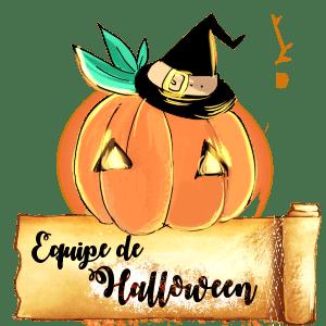 challenge de noël équipe halloween