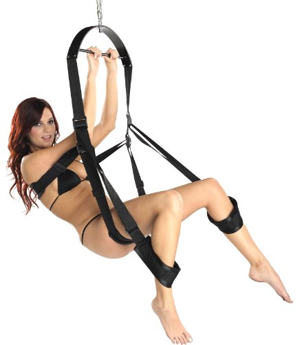 Sex positions using a sex swing