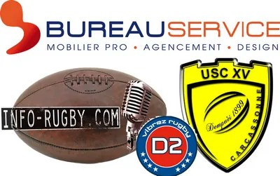 Radio-rugby ProD2 : CARCASSONNE / Valence-Romans (rattrapage), suivez le match en intégralité !