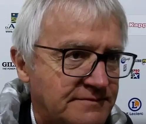 """Rugby-Nationale, Alain Romégoux (Président du SCA) : """"Une satisfaction et un soulagement."""" (J4, vidéo):"""