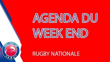 Rugby Nationale : les affiches du week-end et le classement (J15).