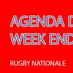 Rugby Nationale : les affiches du week-end et le classement (J6)