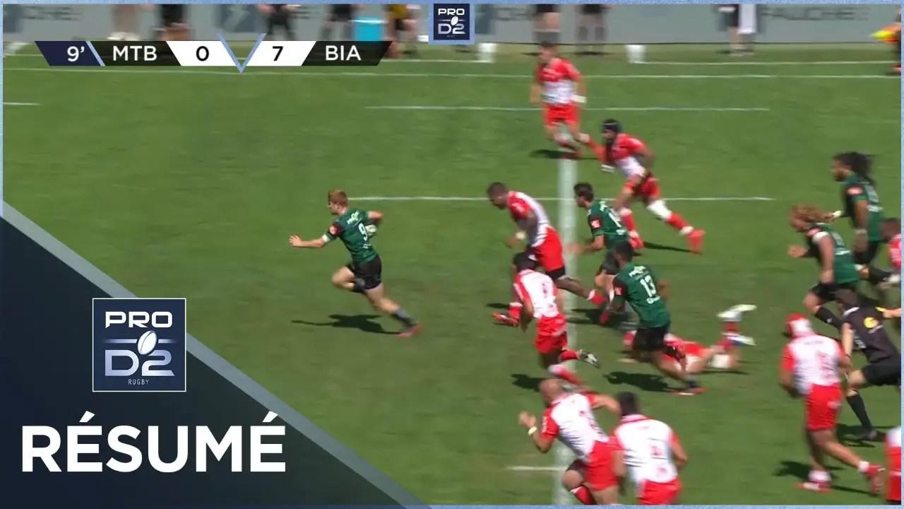 Rugby Pro D2 🎥  : Résumé US Montauban-Biarritz Olympique: 33-30 – J2- Saison 2020/2021