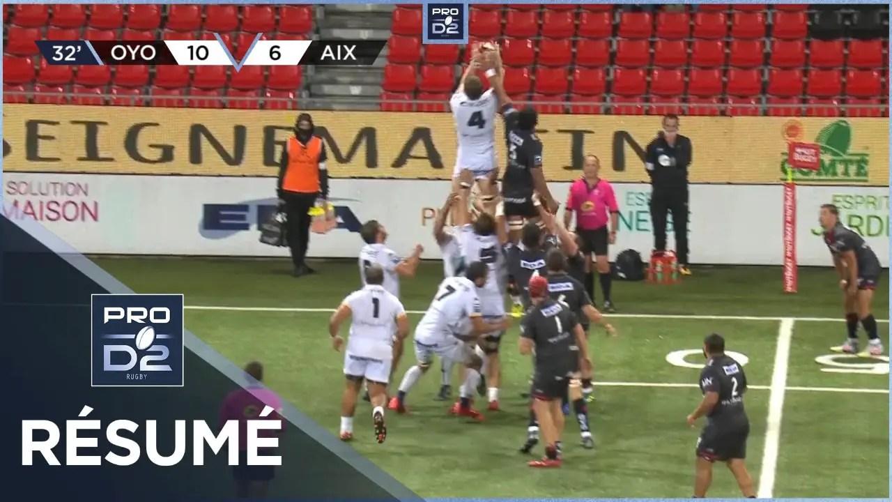 Rugby Pro D2 🎥  : PRO D2 – Résumé Oyonnax Rugby-Provence Rugby: 29-17 – J4 – Saison 2020/2021