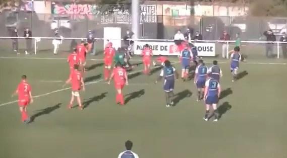 Rugby Fédérale 1 ( FCTT ) : Fédérale 1 Poule 3 – Résumé match FCTT vs Saint Sulpice sur Lèze ( 24-15 )