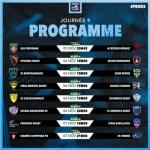 Rugby Pro D2 : le programme de la 9ième journée.