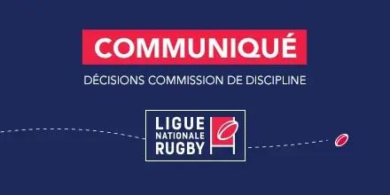 ProD2 : Les décisions de la commissions de discipline