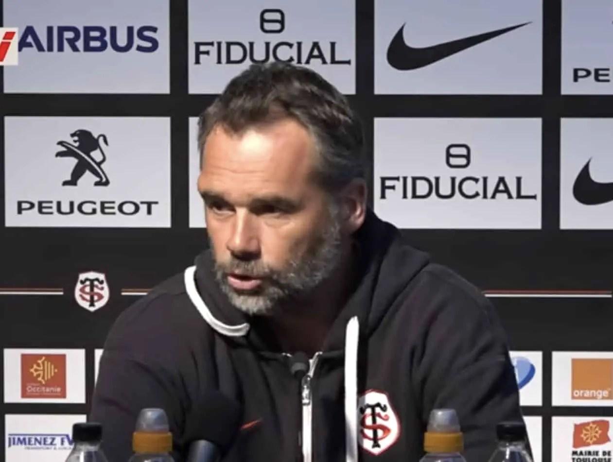 """Top 14 ( Toulouse ) Ugo Mola : """"Sur le plan comptable, la soirée est très positive"""""""