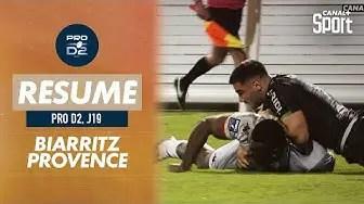 Rugby Pro D2 ( 🎥 Canal + ) : Le résumé de Biarritz / Provence