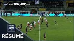 Rugby Pro D2 ( 🎥 LNR ) : PRO D2 – Résumé US Carcassonne-Stade Aurillacois:  15-14  – J22 – Saison 2020/2021