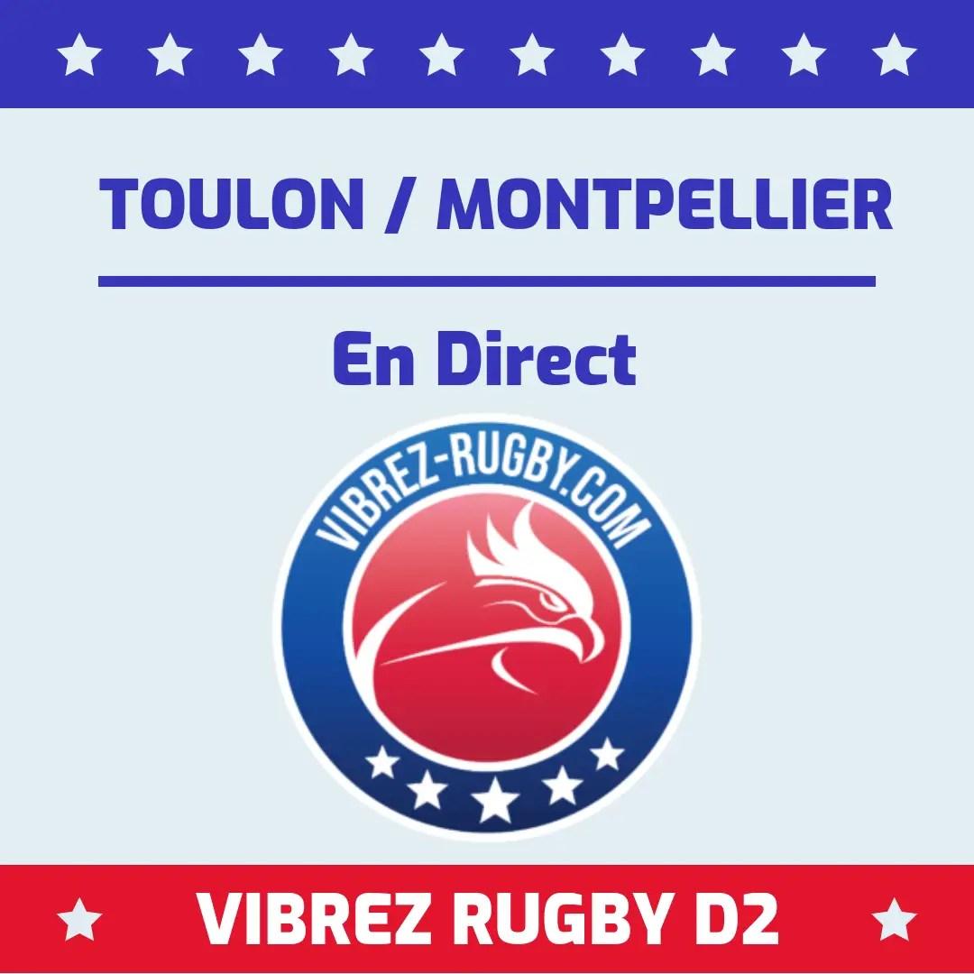 Toulon Montpellier en direct