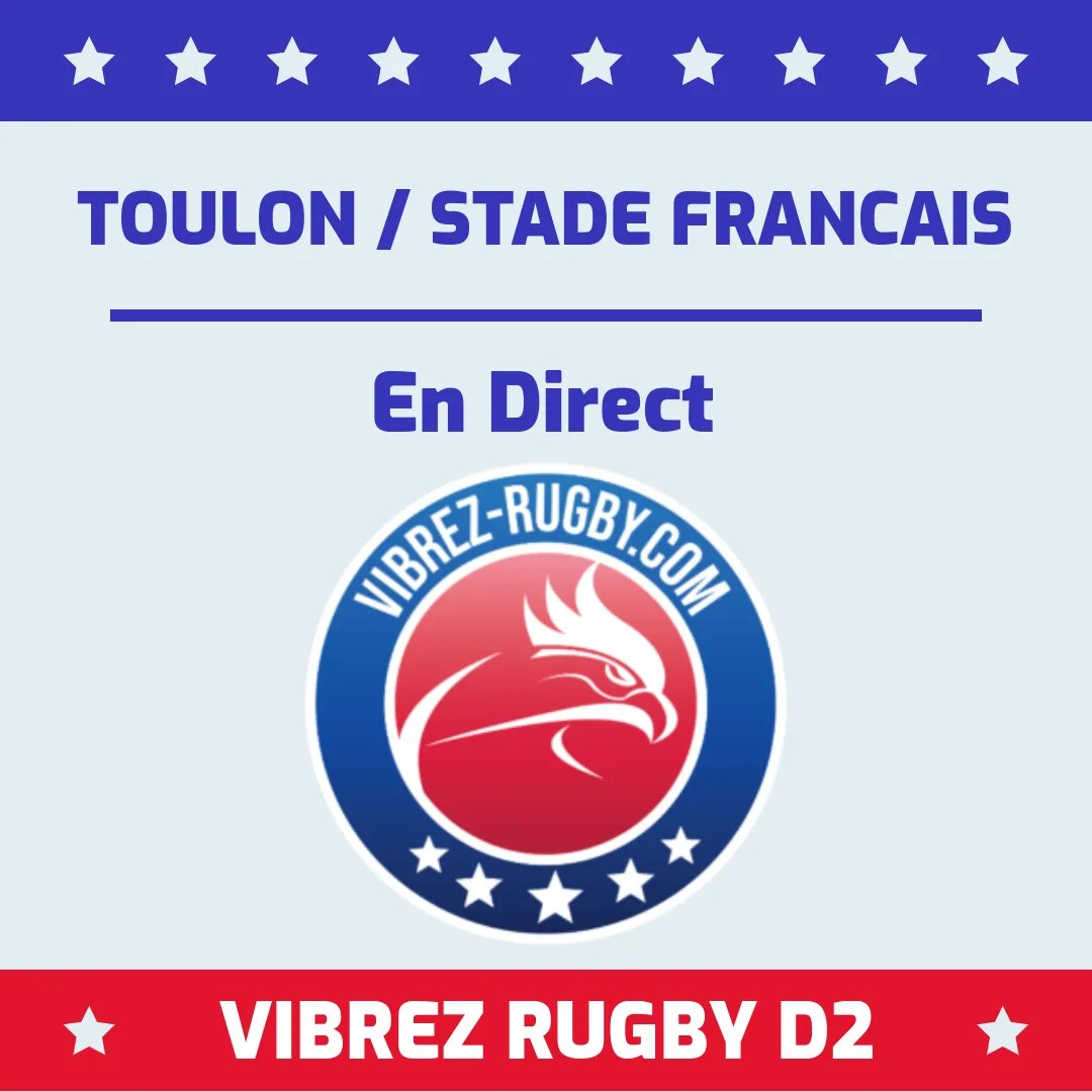 Toulon Stade Français en direct