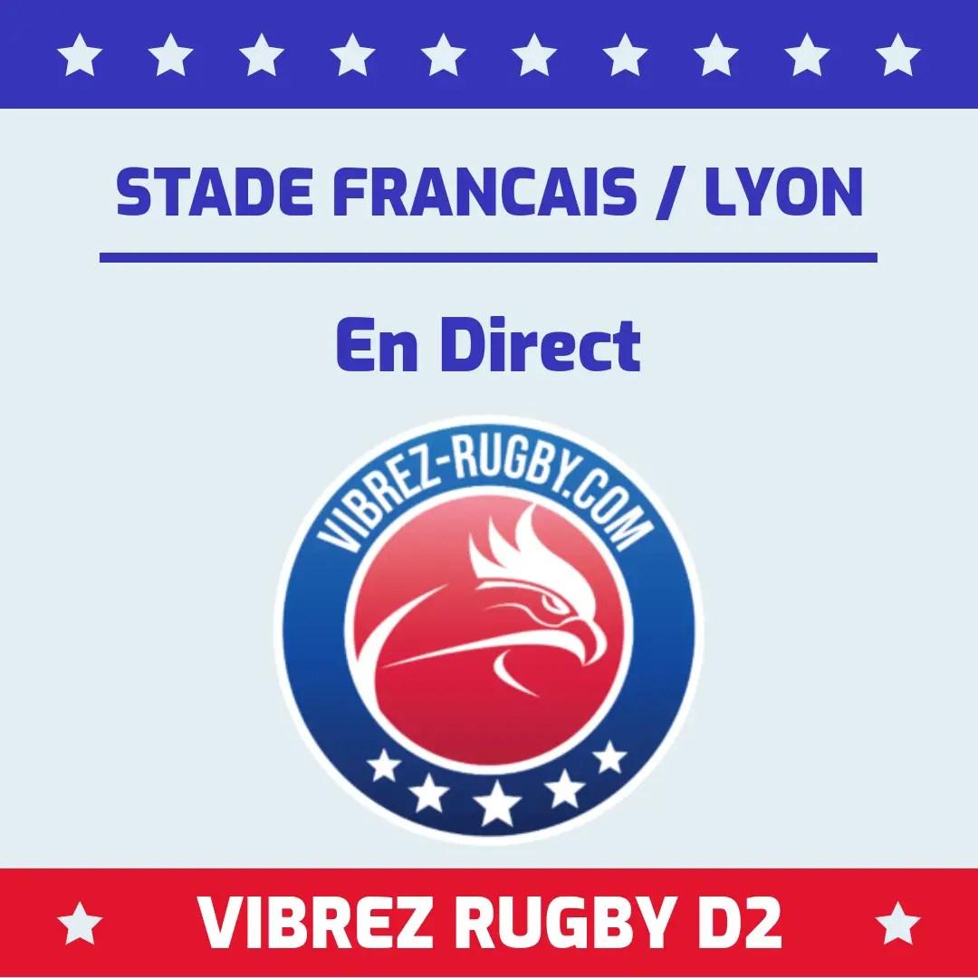 Stade Français Lyon en direct