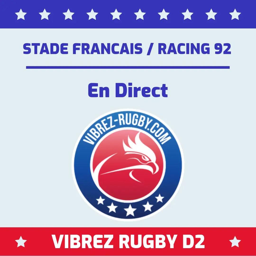 Stade Français Racing 92 en direct