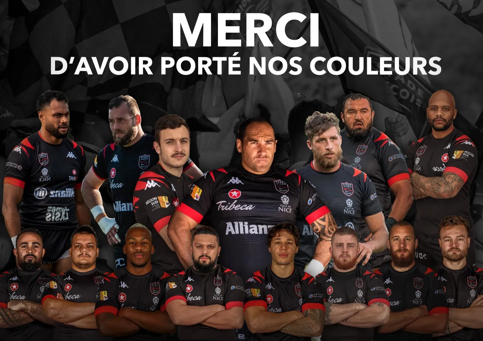 Rugby-Nationale : Le Stade Niçois annonce 15 départs.