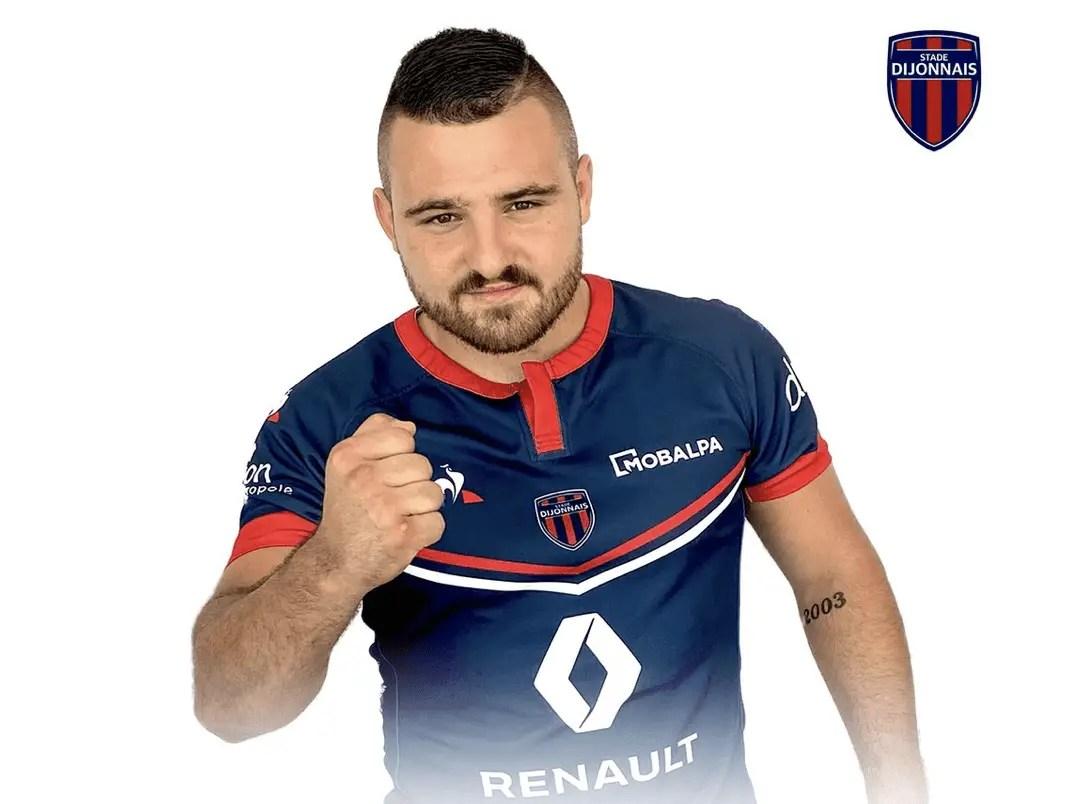 Rugby Nationale ( Dijon ): Recrutement d'un talonneur.