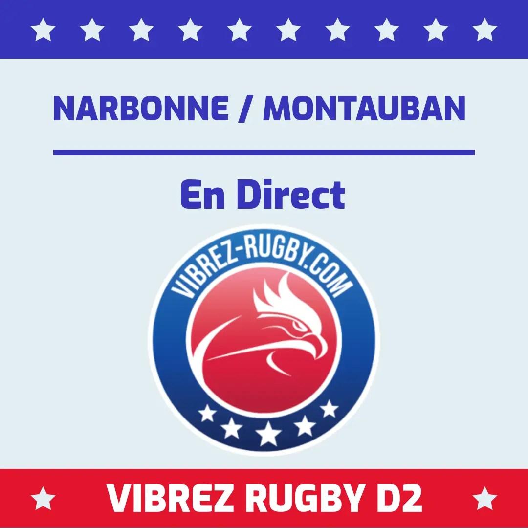 Narbonne Montauban en direct