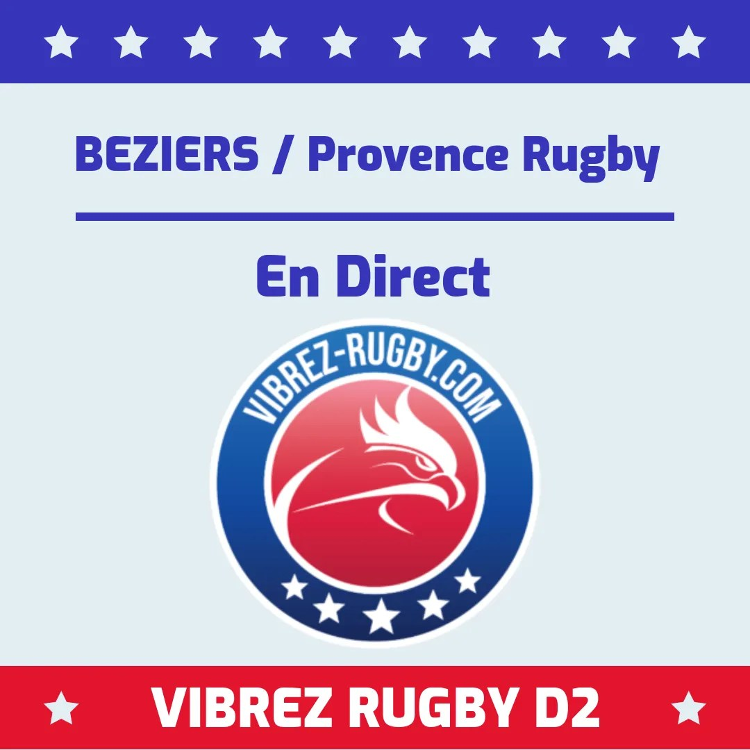 Béziers Provence Rugby en direct