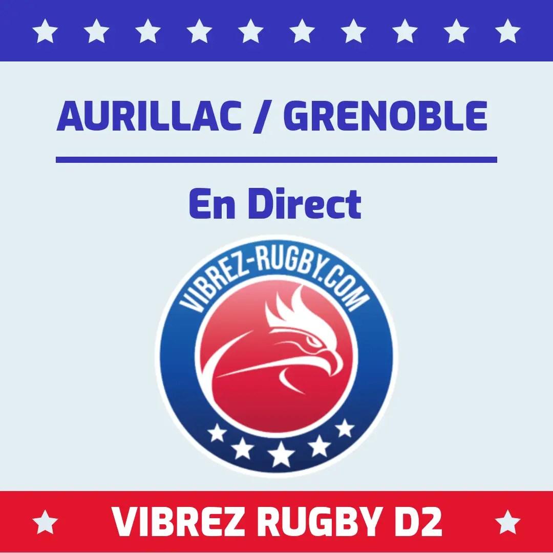 Rugby-ProD2 : Aurillac devant face à Grenoble à la mi-temps. (J4)