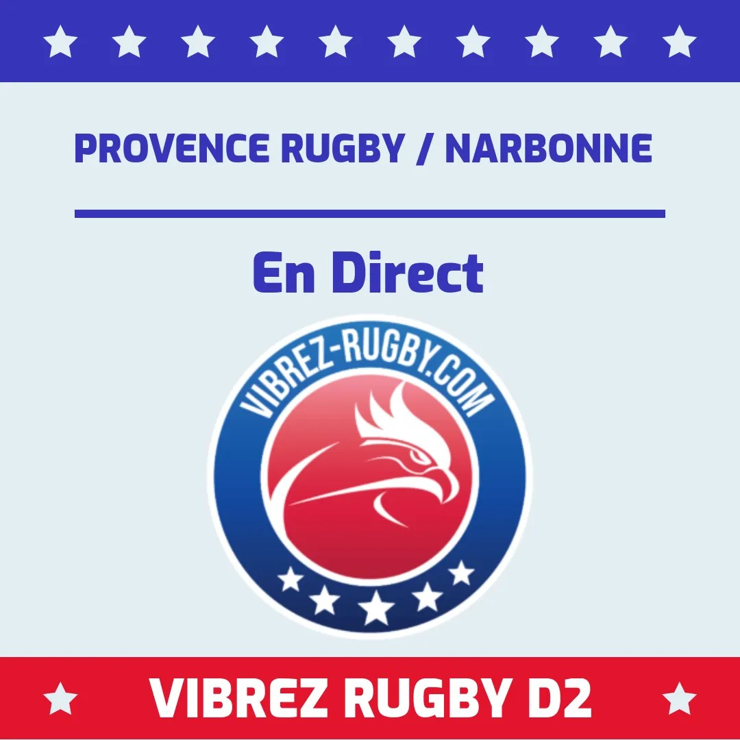 Provence Rugby Narbonne en direct