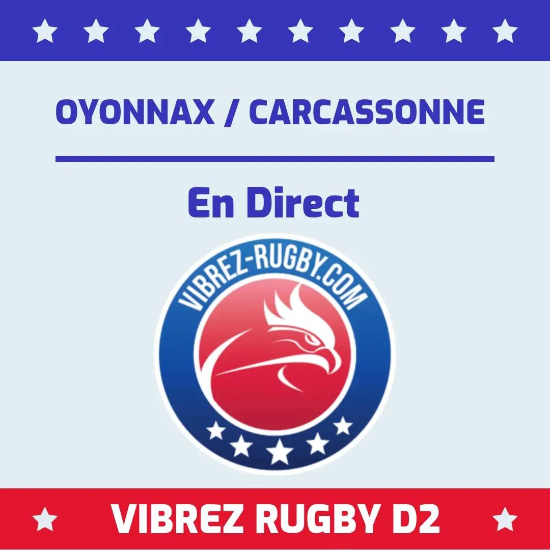 Oyonnax Carcassonne en direct