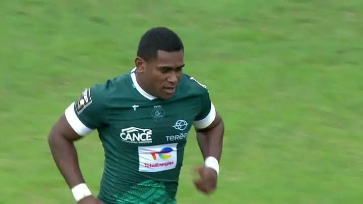 Top 14: un champion olympique fidjien prolonge à Pau
