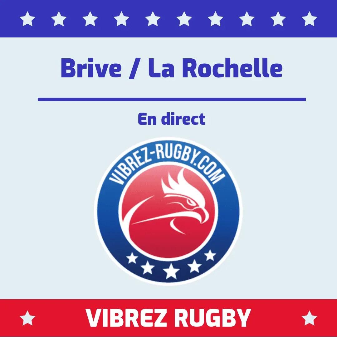 Brive La Rochelle en direct