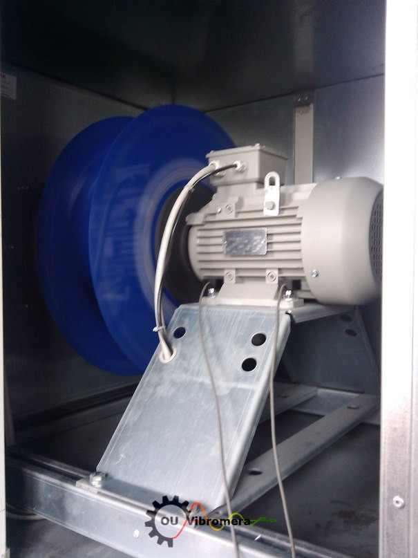 Eexhaust fan impeller balancing
