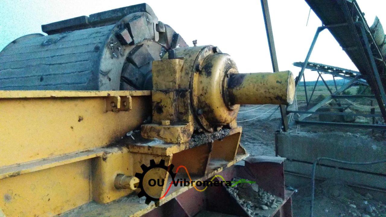 Crusher rotor balancing