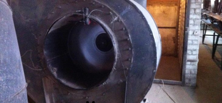 Balancing the fan impeller