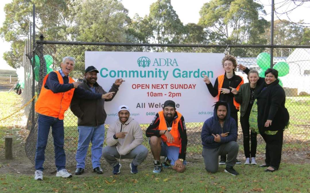 Traralgon Launches a Community Garden