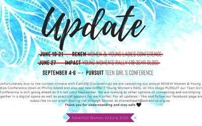 Women's Ministries Update