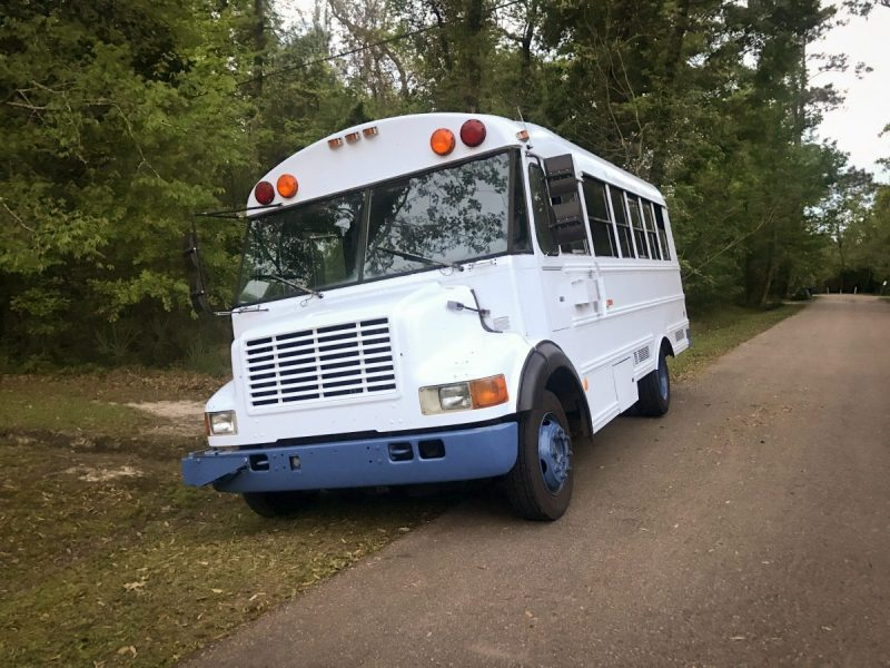 This is the Bus When We First Got It