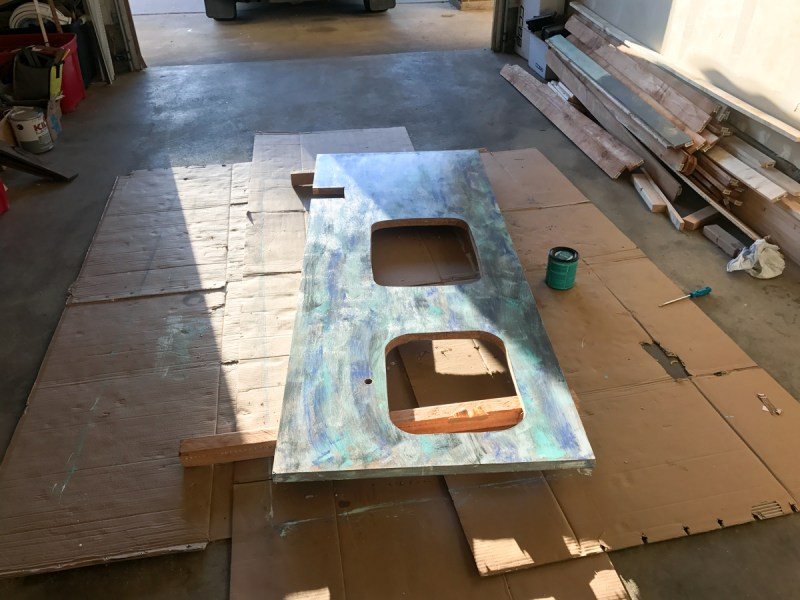 Countertop Before Mounting