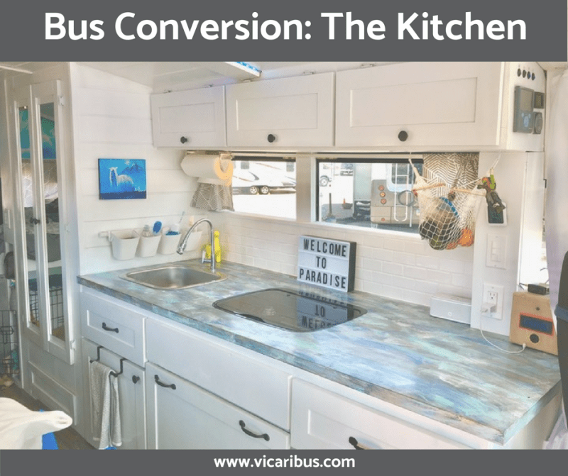 Bus Conversion: The Kitchen