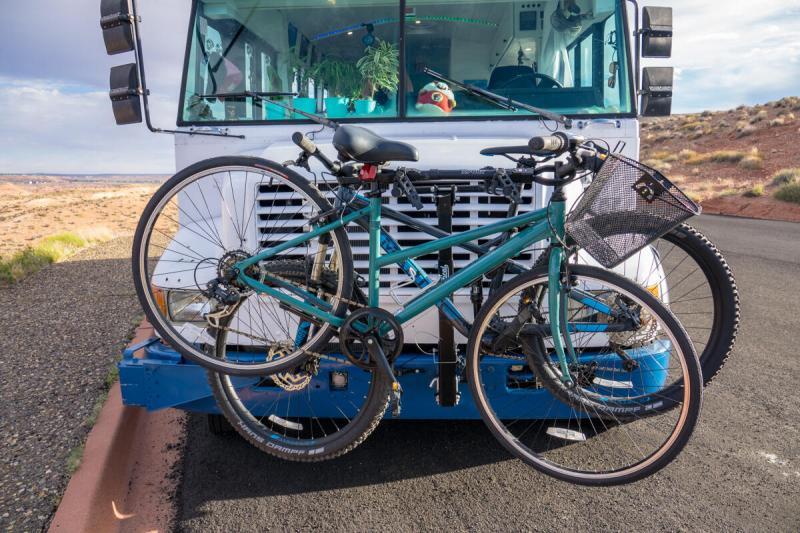 Bikes on Bike Rack
